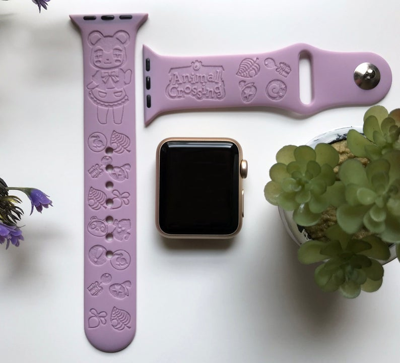 Animal_Crossing_Engraved_Apple_Watch_Band
