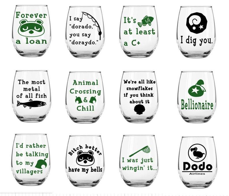 Animal_Crossing_Wine_Glass