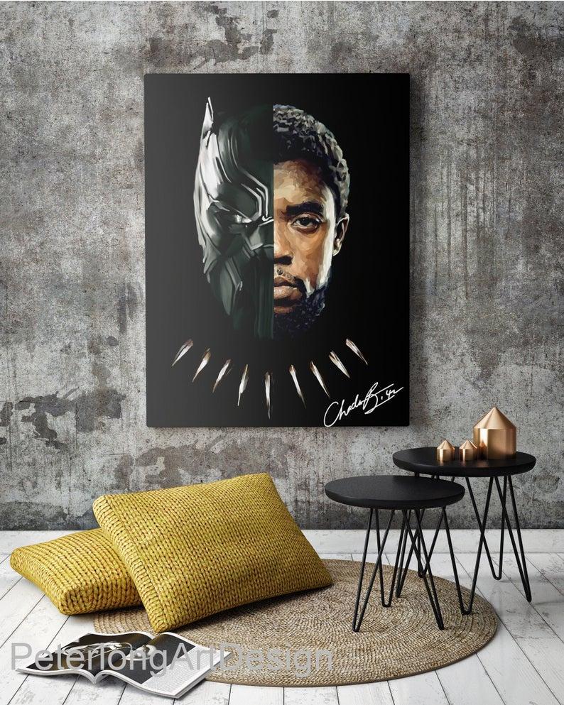 Chadwick_Boseman_Canvas_Art