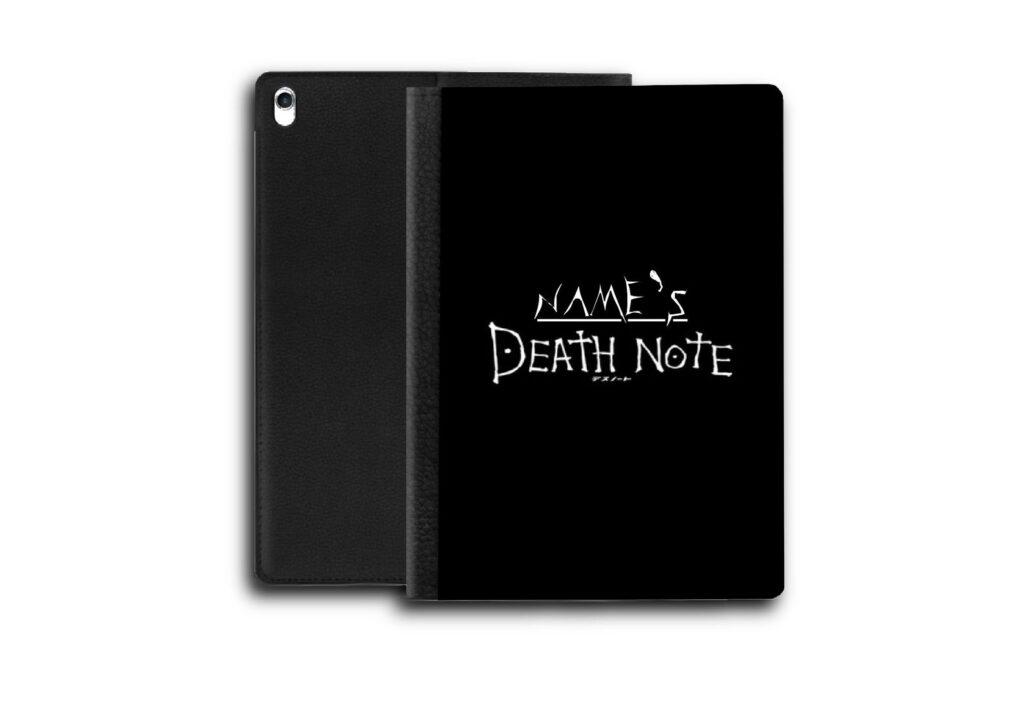 Customizable_Death_Note_iPad_Case