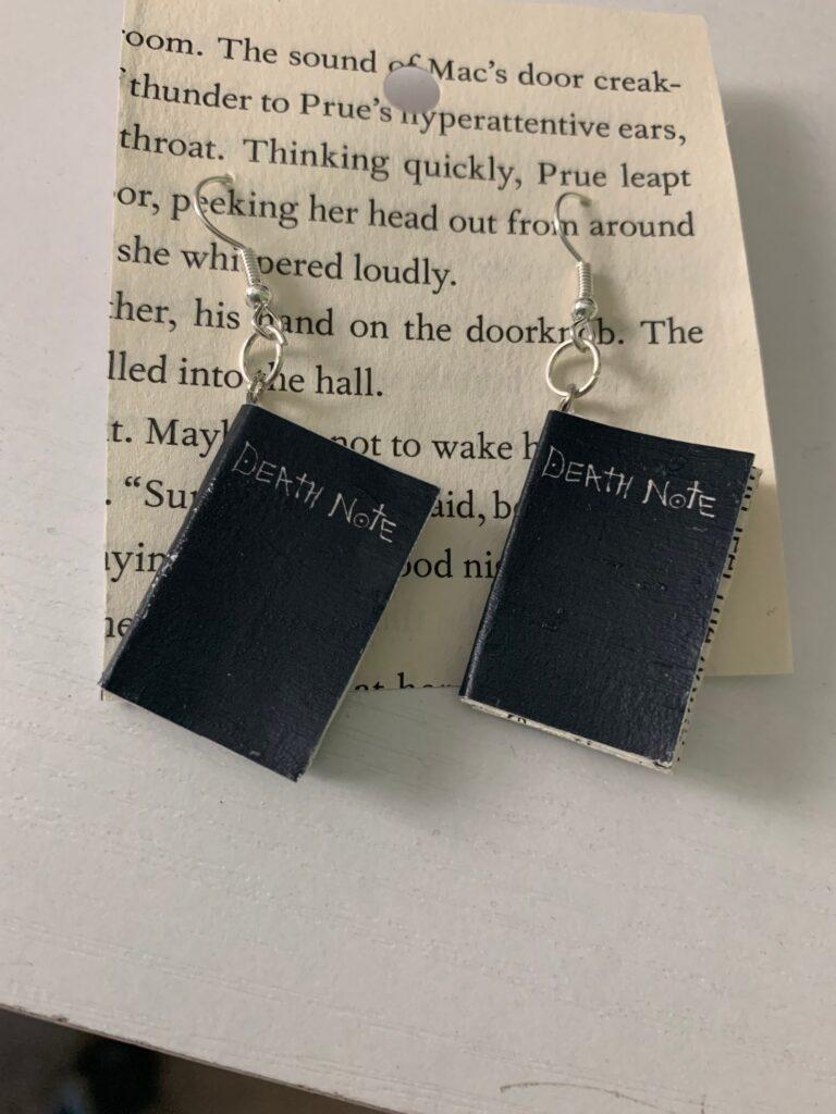 Death_Note_Book_Earrings