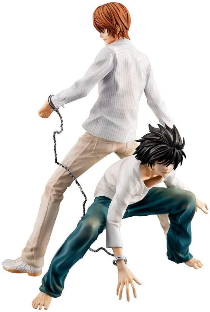 Megahouse_Death_Note_Light_and_L_Statue
