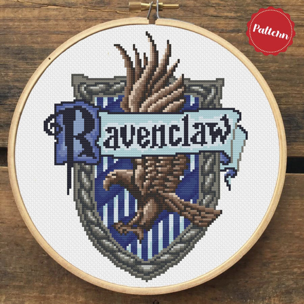 Ravenclaw_Cross_Stitch