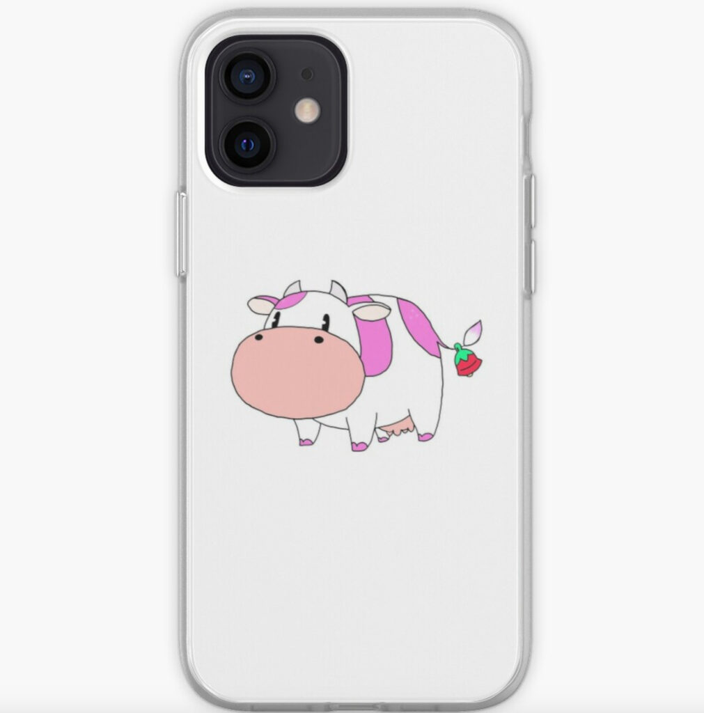 SOS_FOMT_Strawberry_Cow_iPhone_Case