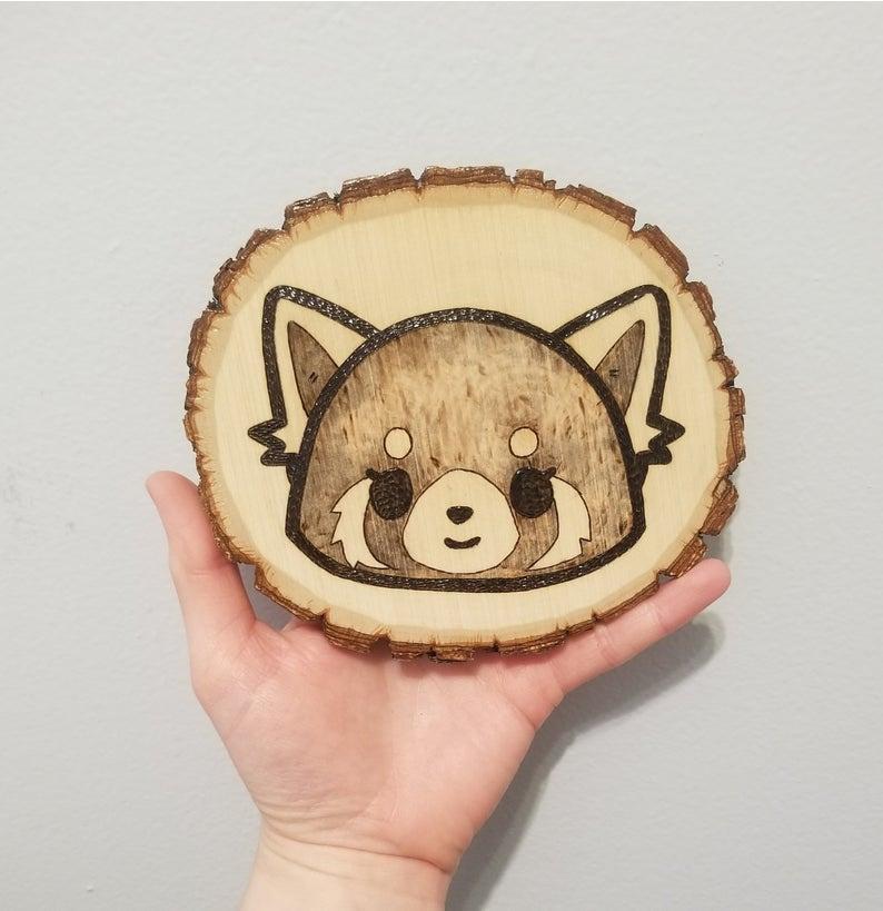 Wood_Slice_Wall_Art_Retsuko