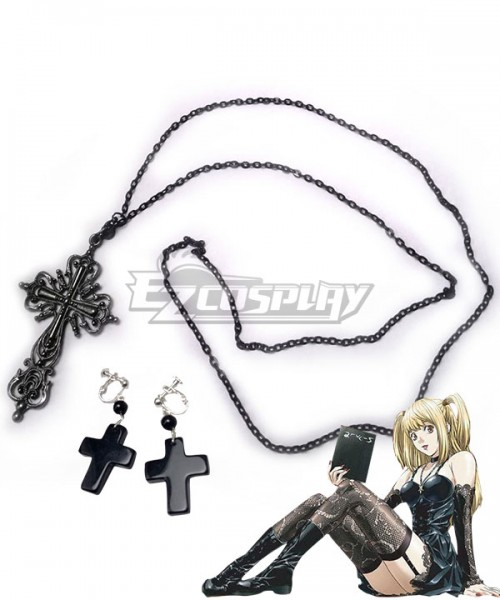 death_note_misa_amane_cosplay_accessories_Necklace_Earrings